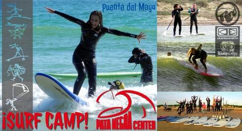 SURF/SUP CAMP PATA NEGRA -  puente de Mayo.